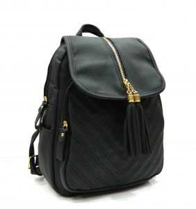 Apples PU Leather Backpack for Girls