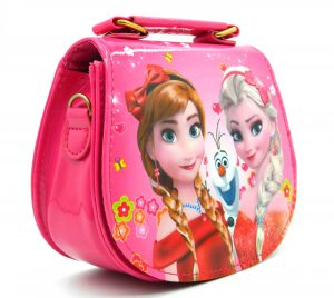 Apples Pearl Handle Printed Princess Baby Bag