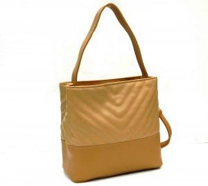 Apples Tan Brown Solid Shoulder Bag